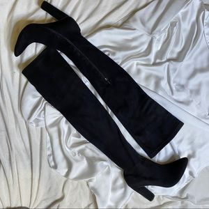 Soft over the knee boots